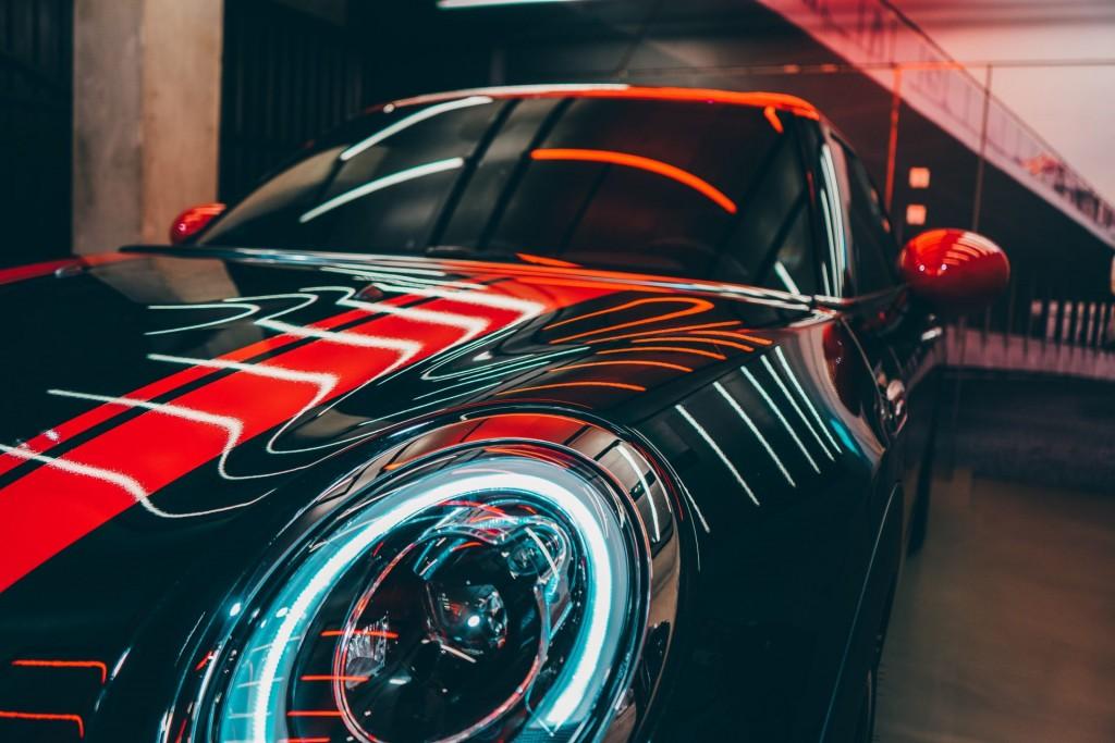 ガラスコーティングした車