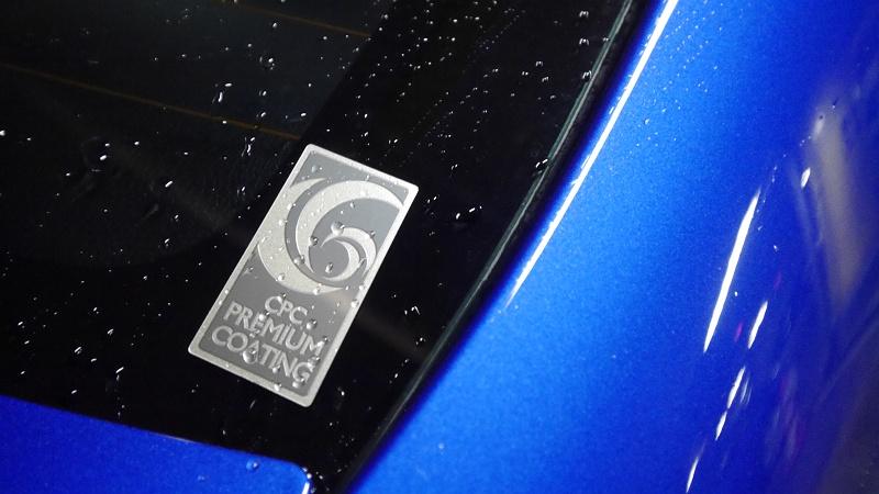 トヨタCPCガラスコーティング
